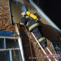 На Кіровоградщині рятувальники тричі залучались на гасіння пожеж