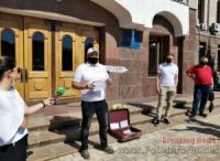 У Кропивницькому відбулася акція «Чемодан,  вокзал,  Херсон»