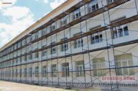 Кіровоградщина: в селищі Побузьке триває реконструкція школи