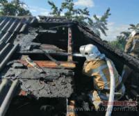На Кіровоградщині тричі виникали пожежі сміття та пожнивних залишків