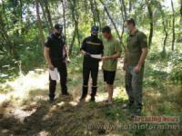На Кіровоградщині у лісових масивах продовжують проводити профілактичні рейди