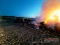 Впродовж минулої доби на Кіровоградщині виникло 8 пожеж