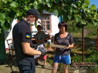 Жителям Вільшанки та Благовіщенського нагадали правила пожежної безпеки