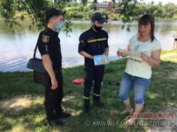 На Кіровоградщині біля водойм провели роз'яснювальну роботу
