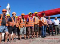 У Кропивницькому будівельників привітали з прийдешнім професійним святом
