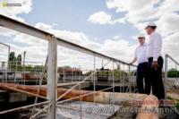 У Кропивницькому триває реконструкція каналізаційних очисних споруд