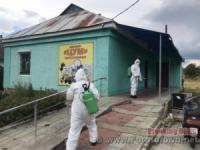 На Кіровоградщині у потенційно небезпечних місцях здійснюють дезінфекційні заходи