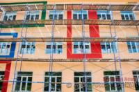 У школі в селищі Побузьке Голованівського району на 90 відсотків завершили утеплення фасаду