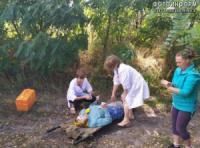 На Кіровоградщині жінка провалилась в глибоку яму
