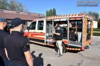 На Кіровоградщині відбулись навчання рятувальників