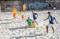 Кропивницький у змаганнях з пляжного футболу перемогли рятувальники