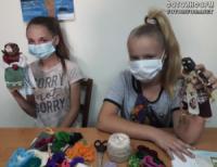 У Кропивницькому дітей вчили робити ляльку-мотанку