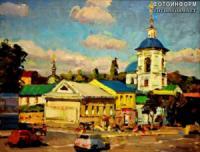 У Кропивницькому відкрили виставку «Художник і місто»