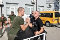 У Кропивницькому рятувальники стали найсильнішими у змаганнях з армреслінгу