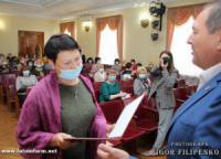Як у Кропивницькому вітали вчителів та бібліотекарів