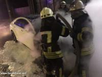 У Кропивницькому від підпалу постраждала іномарка