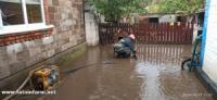 У Кропивницькому рятувальники допомагали населенню по відкачці дощових вод