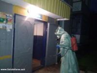 Рятувальники надають допомогу по здійсненню дезінфекційних заходів на Кіровоградщині