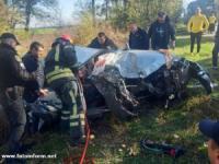 ДТП на Кіровоградщині: пасажирку діставали рятувальники
