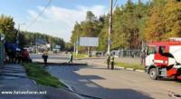 У Кропивницькому деблокували постраждалого водія з понівеченого легковика
