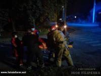 На Кіровоградщині під час ДТП врятували двох людей