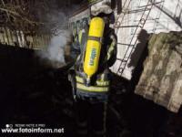 За добу на Кіровоградщині виникло 5 пожеж