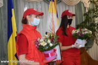 У Кропивницькому рятувальники привітали волонтерів