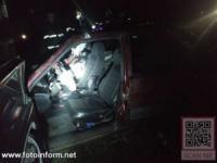 ДТП на Кіровоградщині: Водій легковика врізався у стовп