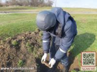 На Кіровоградщині під час земляних робіт були виявлені небезпечні знахідки
