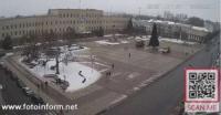 У Кропивницькому почали демонтаж новорічної ялинки