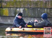 У Кропивницькому двоє хлопців вирішили поплавати на надувному човні