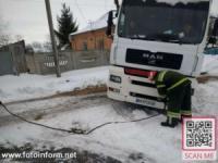 Кіровоградщина: на допомогу водіям 17 транспортних засобів прийшли рятувальники
