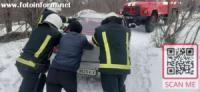 Кіровоградщина: на проблемних ділянках доріг водіям 4 рази надавали допомогу
