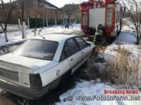 Кіровоградщина: на автошляхах області рятувальники 4 рази надали допомогу водіям