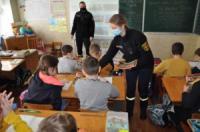 У Кропивницькому для школярів рятувальники провели навчальний семінар