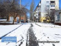 До Кропивницького у березні повернулася зима