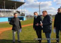 Реконструювати бейсбольний стадіон у Кропивницькому будуть у дві черги