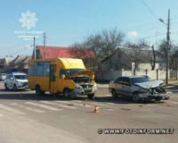 У Кропивницькому порушення правил проїзду перехресть знову стало причиною ДТП