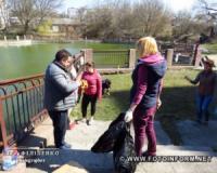 У Кропивницькому на озері Копань влаштували недільне прибирання