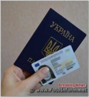 Окремим категоріям жителів Кропивницького надано пільги при оформлені біометричних документів