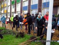 У Кропивницькому з' явилася нова алея сакур