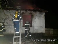 На Кіровоградщині за добу у житловому секторі загасили 3 пожежі