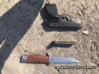 У Кропивницькому гвардійці затримали чоловіка зі зброєю