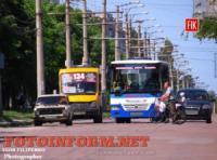 У Кропивницькому змінили рух автобусного маршруту