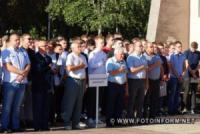 У Кропивницькому Сергій Поліщук привітав студентів ЦНТУ з Днем знань