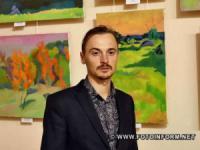 У Кропивницькому до 35-річчя від дня народження художника Василя Коваля відкрилася виставка