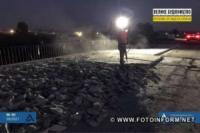 На Кіровоградщині дорожники працюють у дві зміни