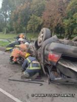На Кіровоградщині у ДТП загинув пасажир іномарки