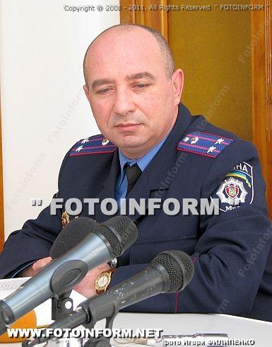 начальник ОГСО в Кировоградской области Александр Спинул
