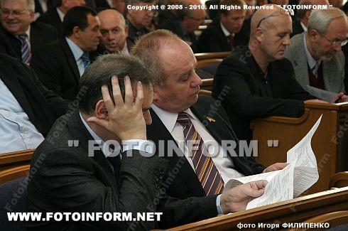 Николай Сухомлин передал булаву новому председателю облсовета (ФОТОРЕПОРТАЖ)